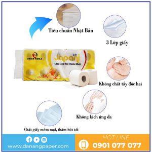 Đặc điểm của giấy vệ sinh cuộn nhỏ JPS10-danangpaper.com