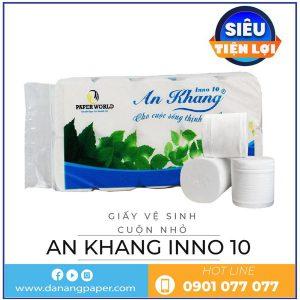 Giấy vệ sinh cuộn nhớ AN Khang Inno10-danangpaper.com