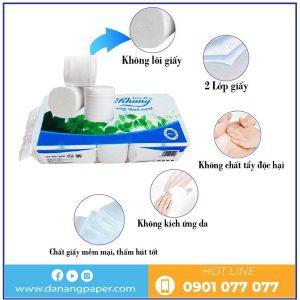 Đặc điểm của giấy vệ sinh cuộn nhỏ AKI10-danangpaper.com