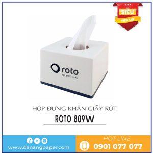 Nơi bán hộp đựng giấy lau tay để bàn rt809w
