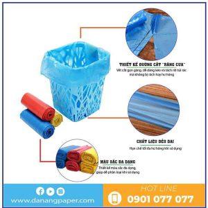 Đặc điểm của túi rác màu eco - danangpaper.com