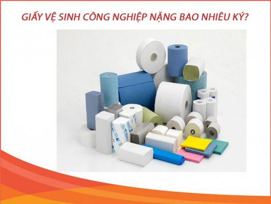 Giấy vệ sinh công nghiệp nặng bao nhiêu ký